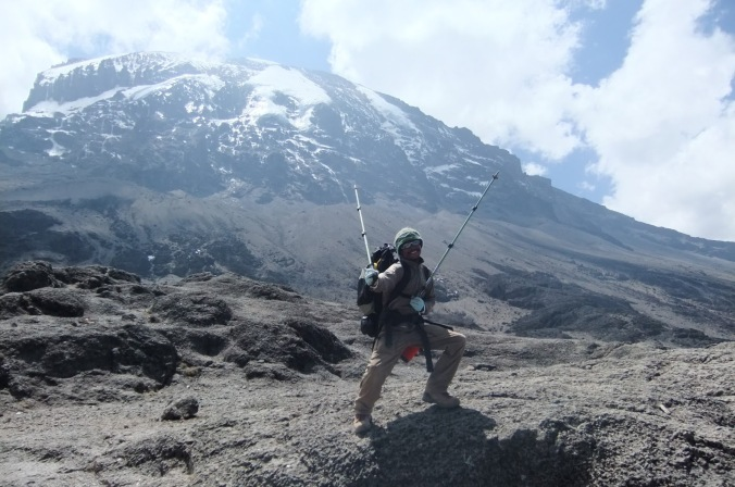 Kilimanjaro Top of Baranco Wall
