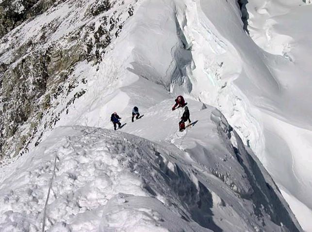Island Peak Summit Ridge