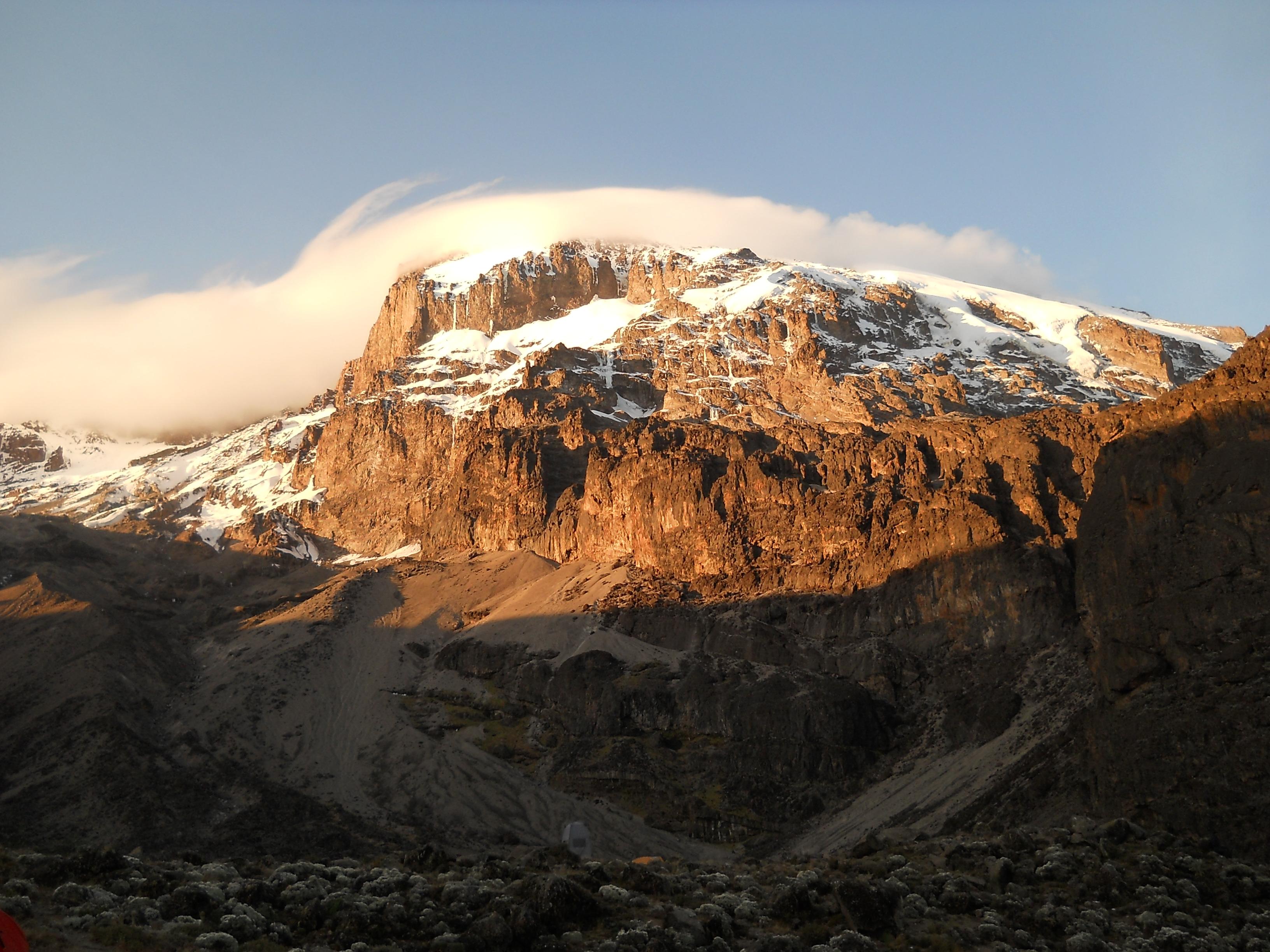 Kilimanjaro from Karanga